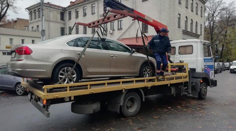 Як працює служба евакуації транспорту в Києві?