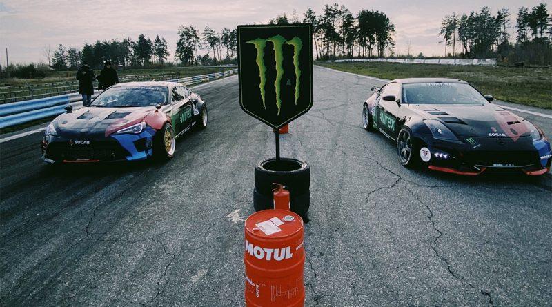 Національний рекорд в автоспорті: гонщики увійшли в занос на швидкості 215 км/год